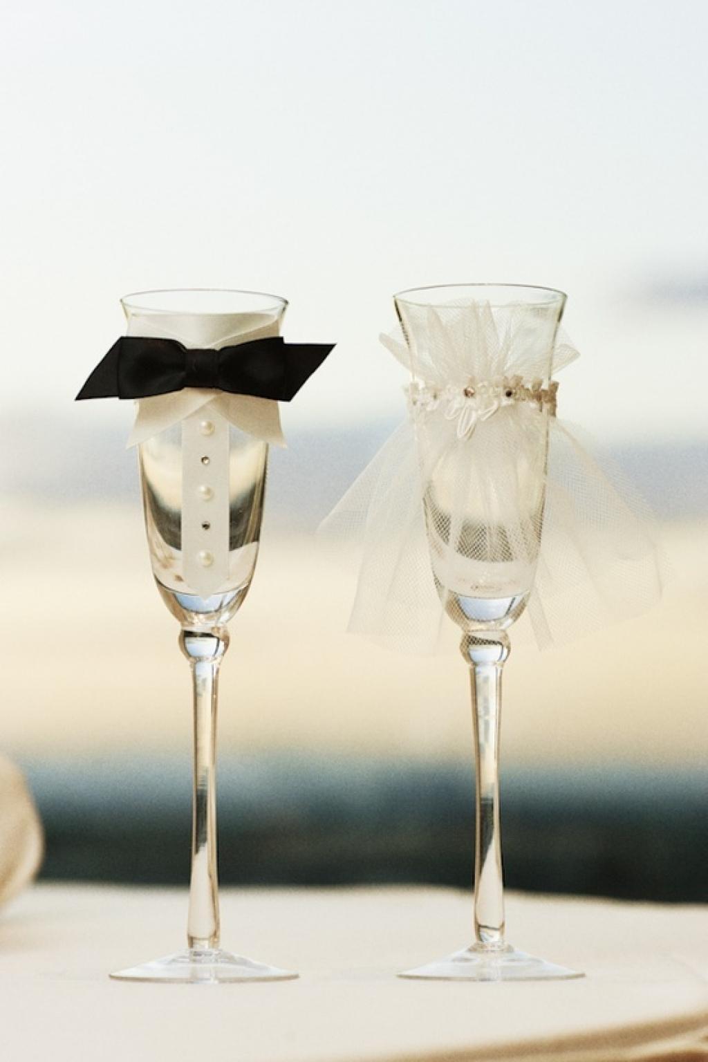 Comment decorer une flute a champagne