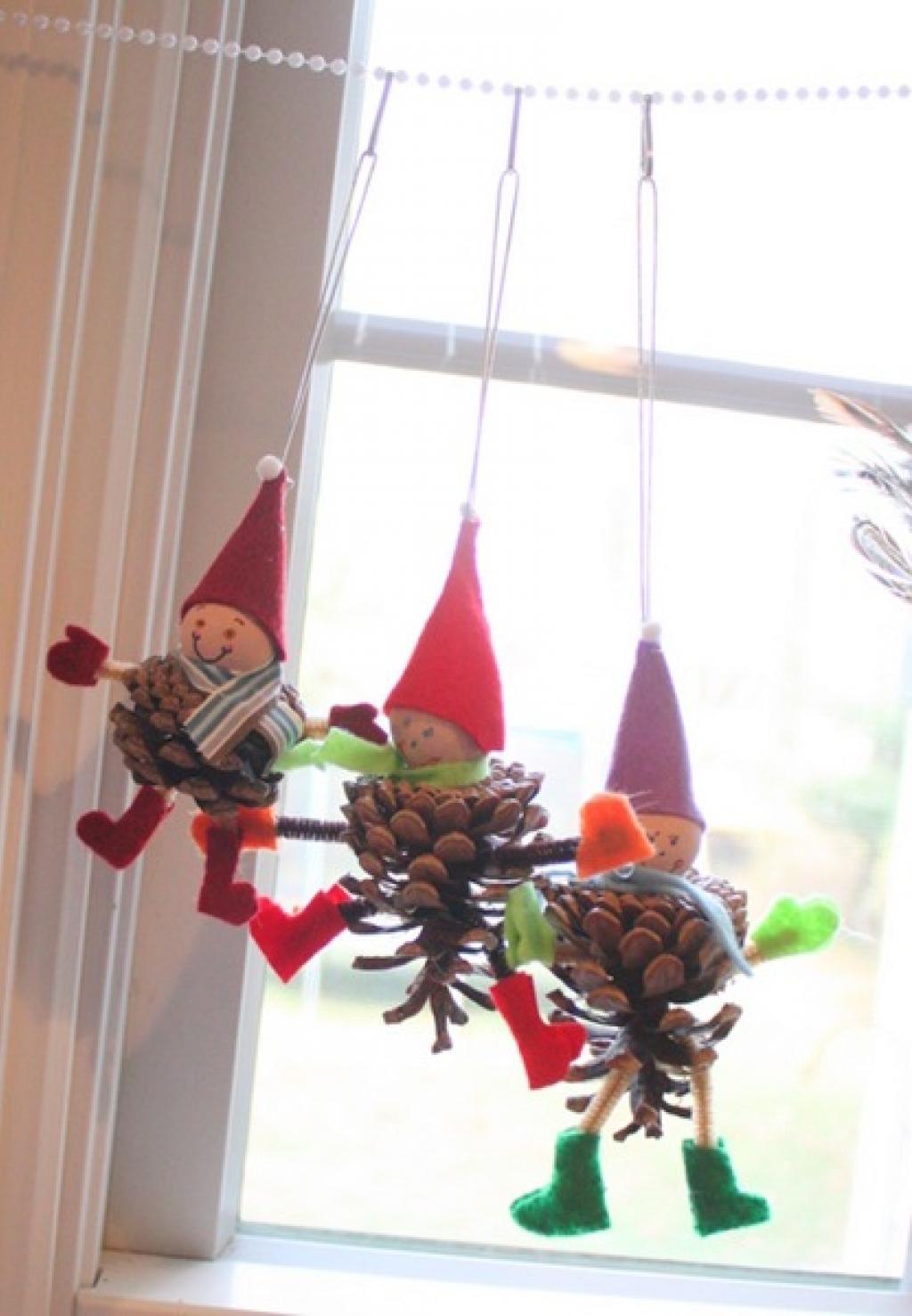 Plus de 30 idées de décoration de noël à faire avec des cocottes ...