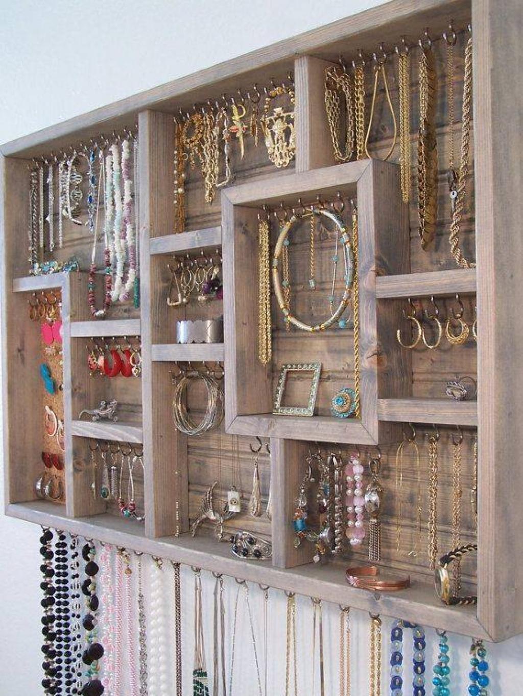 cadre pour accrocher bijoux - make up xxl