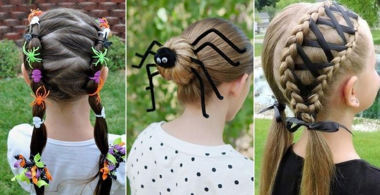 16 accessoires cheveux à faire soi,même pour compléter un costume dHalloween!
