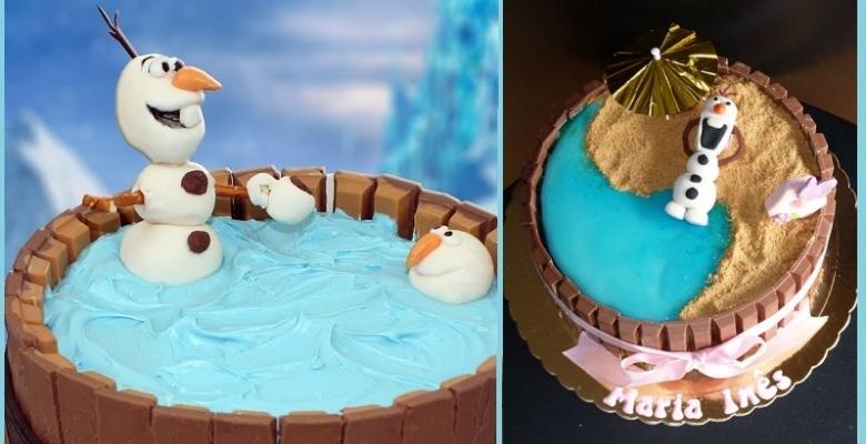 Comment faire le plus facile et le plus amusant gâteau dOlaf! PLUS 3 autres modèles à voir