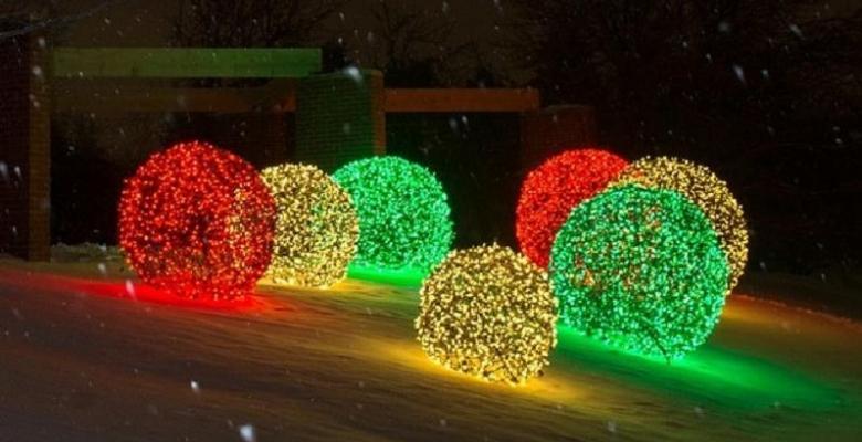 Decoration decoration noel a fabriquer pour exterieur  Comment fabriquer des boules géantes de