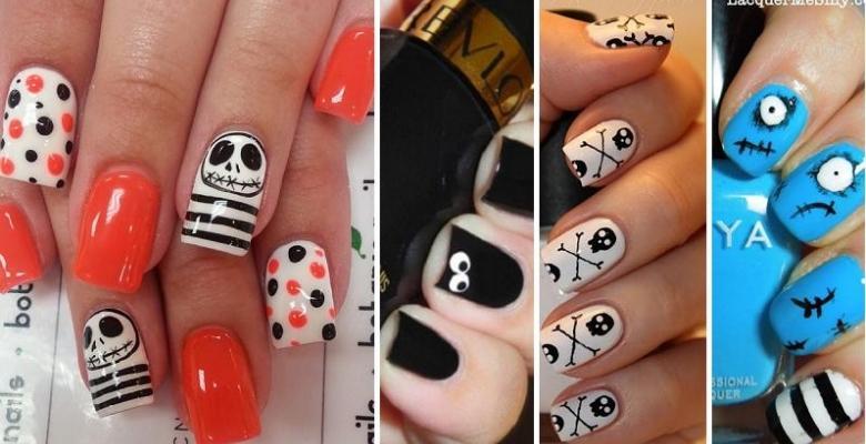 30 nouvelles idées pour faire vos ongles à lHalloween!