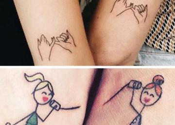 25 idées de tatouages à faire entre soeurs! Inspirez-vous!