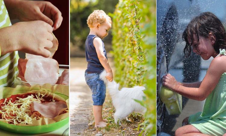 Quelles tâches ménagères devez-vous donner à vos enfants et à quel âge?