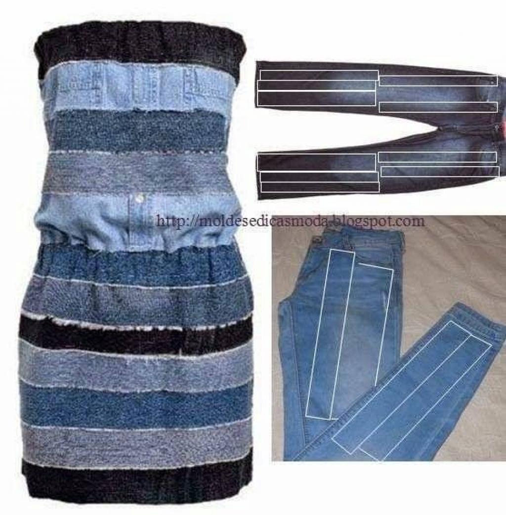 Super 28 Façons créatives de récupérer des vieux jeans, pour leur donner  WB31