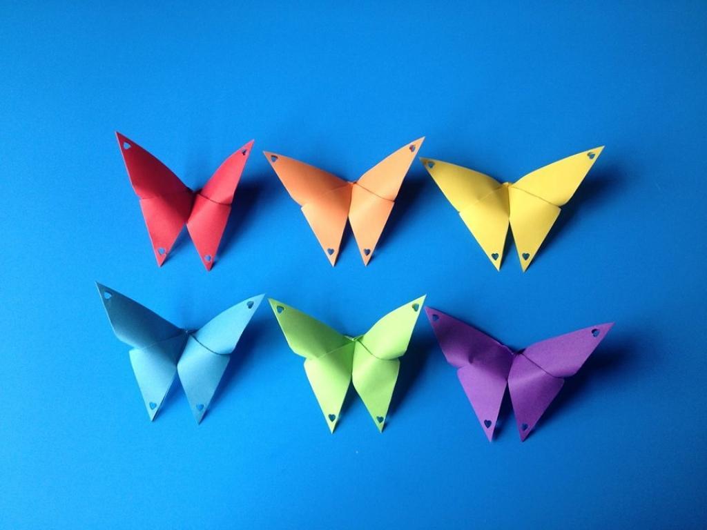 Bien-aimé Bricoler des papillons de papier! Faites-en des décorations  PC49