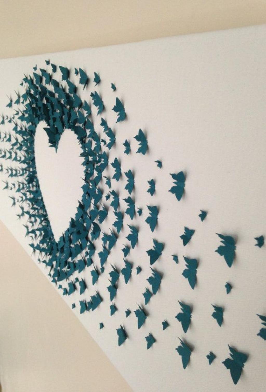 Favori Bricoler des papillons de papier! Faites-en des décorations  CB05