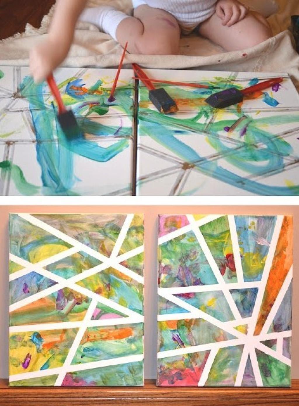 Très 7 Activités extraordinaires à faire avec les enfants! Peinture et  ZN93