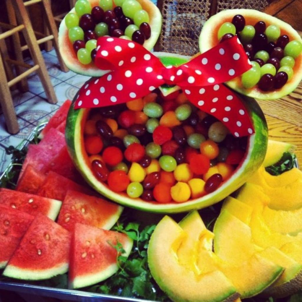 Favori Plus de 30 idées de décoration de table à partir de melon d'eau  FJ63
