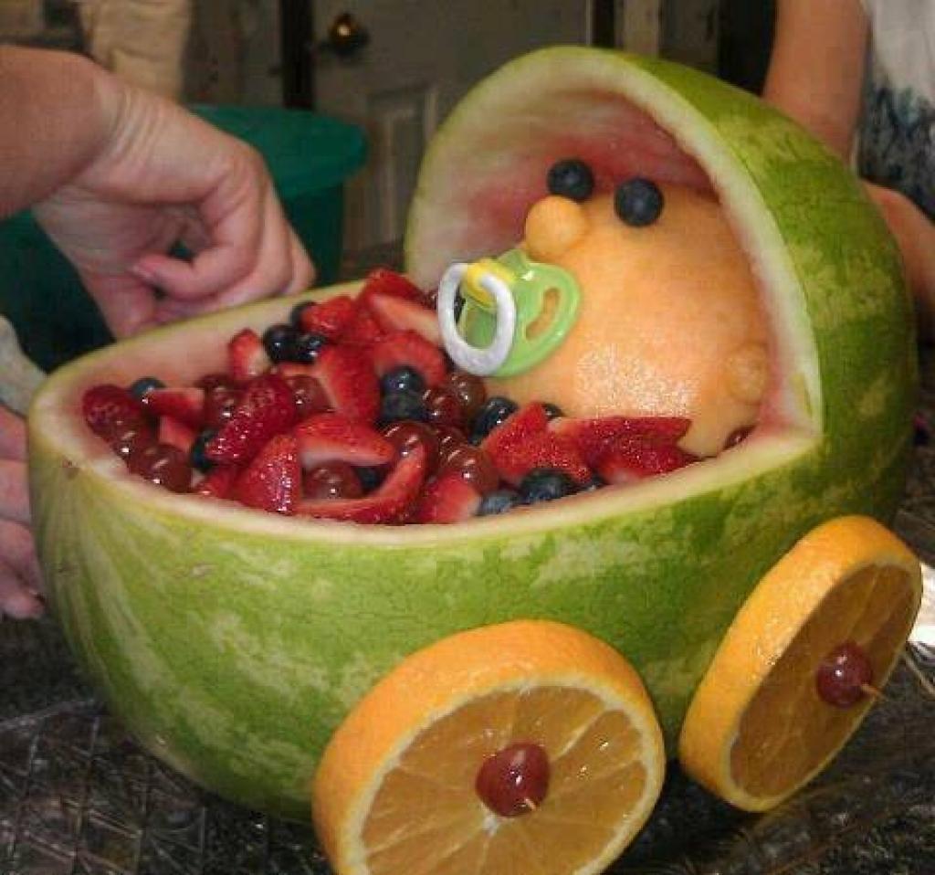 Plus de 30 idées de décoration de table à partir de melon d\'eau ...