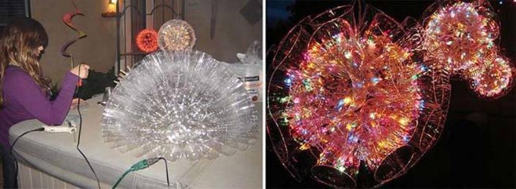 Exceptionnel Créer d'éblouissantes décorations avec des verres de plastique et  JL66