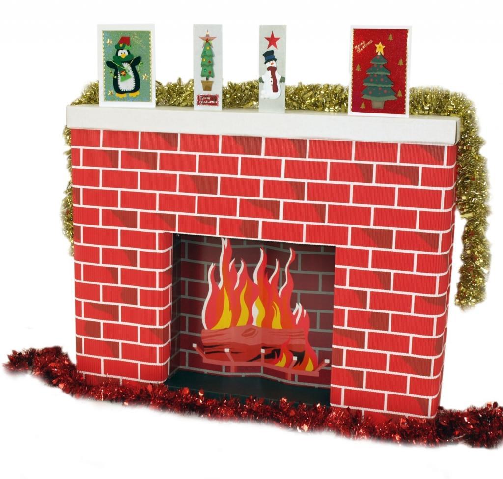 Gut gemocht Comment fabriquer une cheminée pour le Père Noël, avec des boites  CQ68