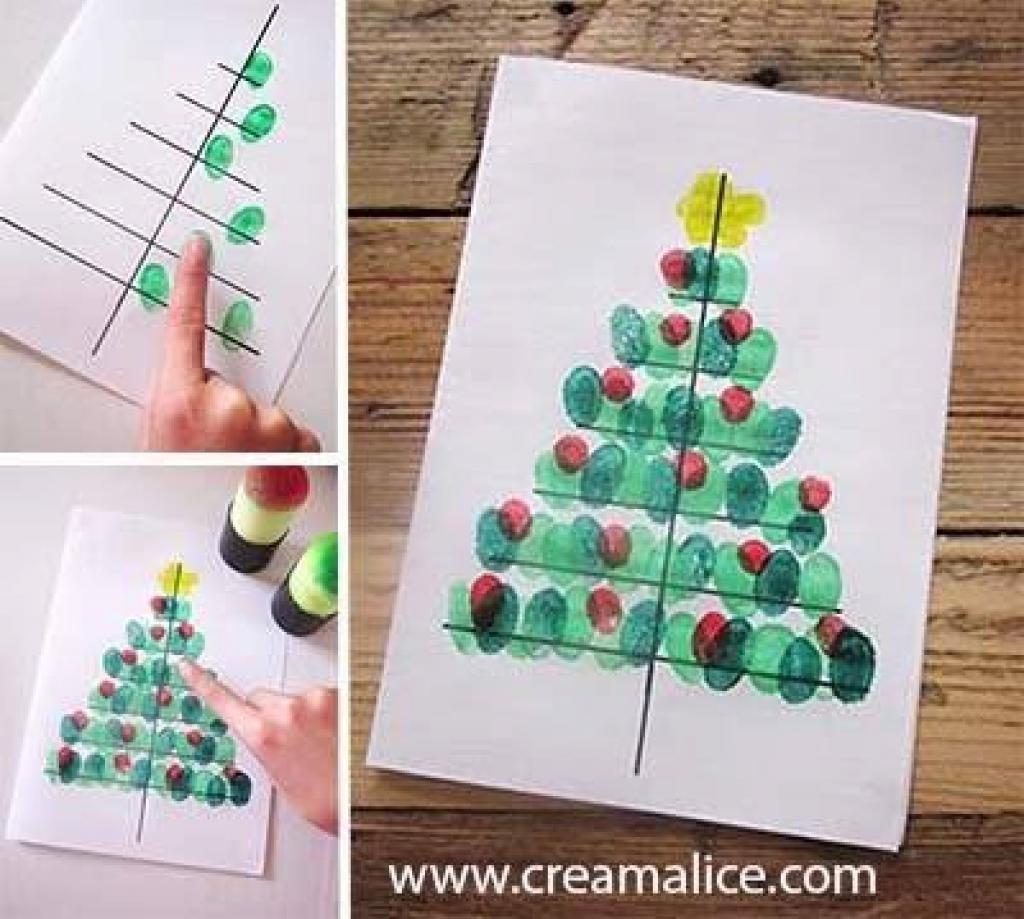 Sehr Une carte de Noël à bricoler avec les petits! - Bricolages - Trucs  KX91