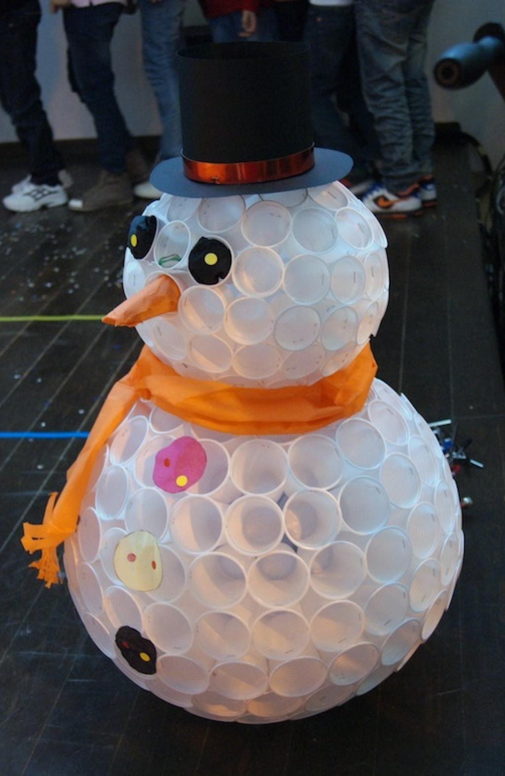 Célèbre 9 modèles de Bonhomme de neige en verre de plastique! Plus une  OO68