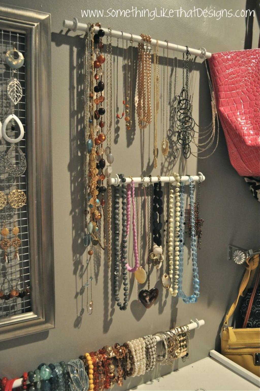 Super 22 idées de rangement pour vos bijoux - Trucs et Astuces - Trucs  AQ95