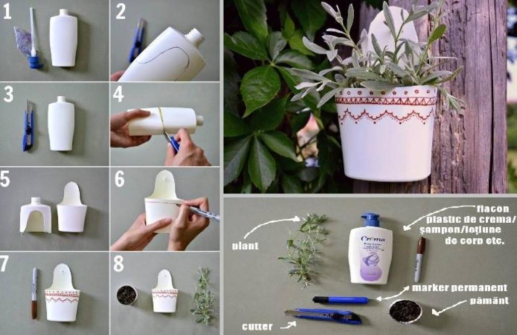 Super Recycler les bouteille de shampoing en plastique! - Bricolages  VR31