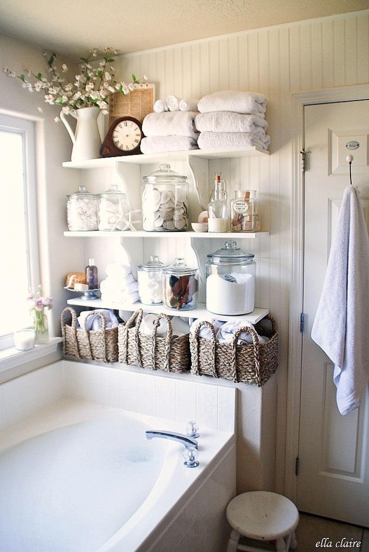 18 magnifiques idées pour rendre une salle de bain, un peu plus