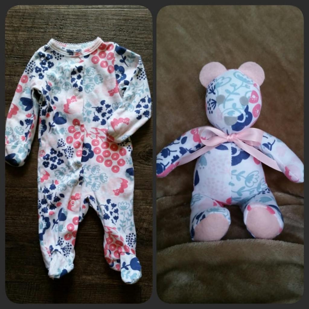 Connu Bricolez un ourson, à partir du pyjama préféré de bébé! UN PATRON  US45