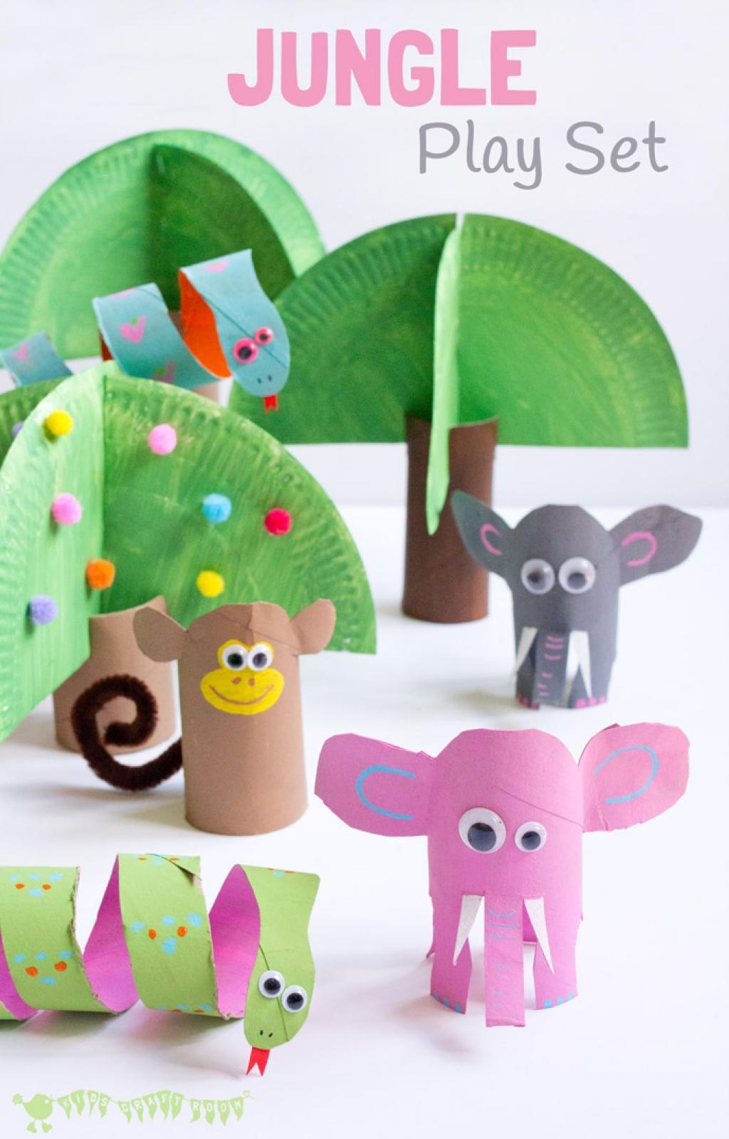 Très 10 Superbes bricolages à faire avec les enfants! Avec des rouleaux  XV65