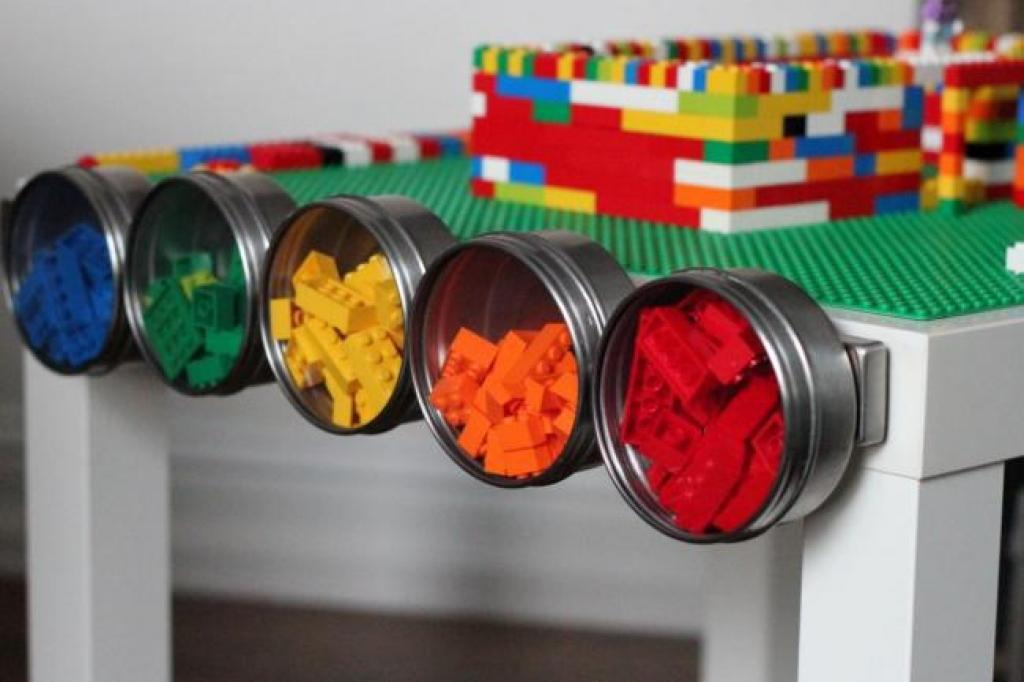 12 tables avec rangement pour les VRAIS FANS de blocs Lego! Et vous ...