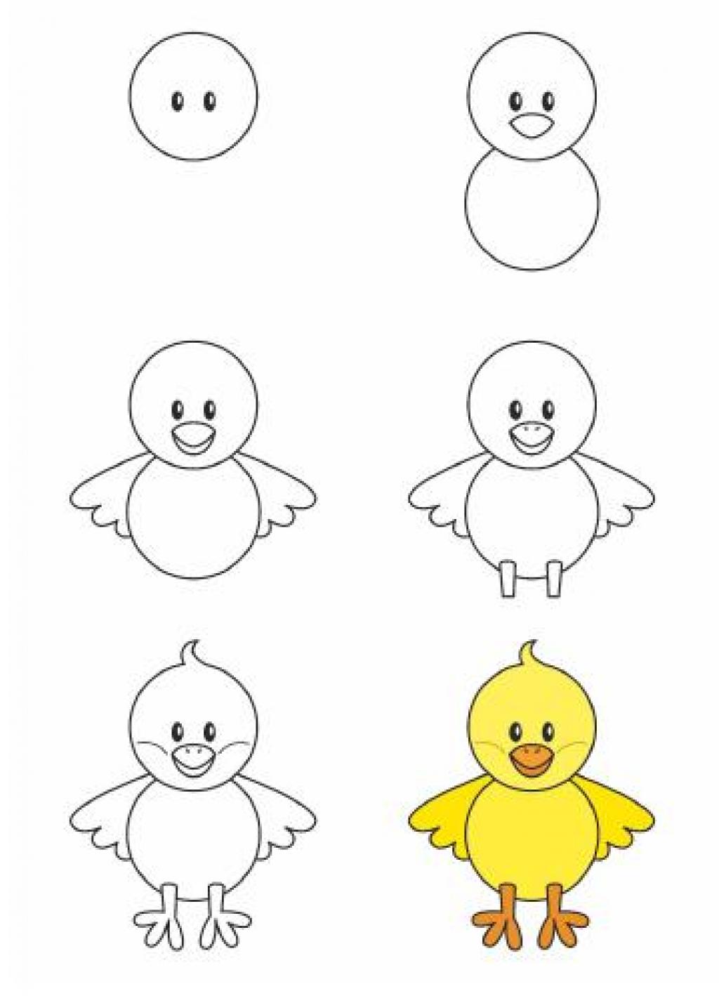 Célèbre Apprendre à dessiner aux enfants, étape par étape! 17 animaux  ZY07