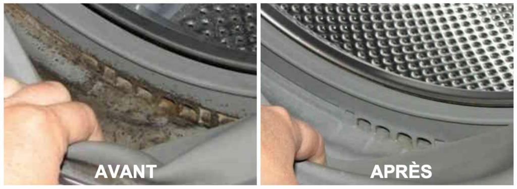 Éliminez les mauvaises odeurs et nettoyez à fond la machine à