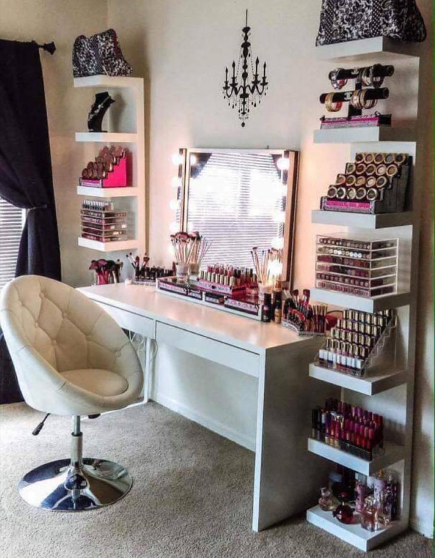 Populaire 20 Astuces pour créer sa propre salle de maquillage à la maison  TP71