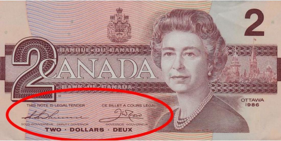Avez-vous gardé des vieux billets de banque canadiens? Ce billet de 2 $ pourrait valoir 10000 $!