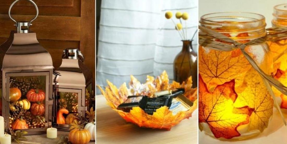 12 Magnifiques décorations d'automne faciles à bricoler soi-même et à peu de frais!