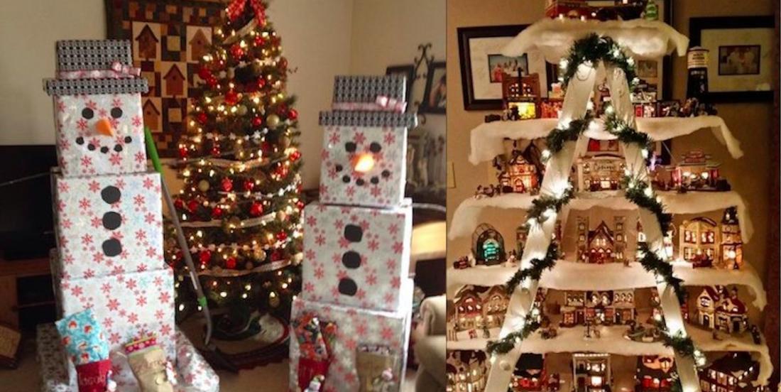 24 superbes idées de décorations de Noël à réaliser vous-même!