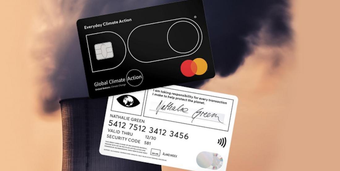 Mastercard lance une carte qui calcule votre empreinte carbone et se bloque si vos achats polluent trop!
