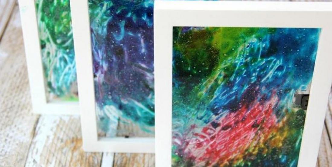 Bricoler le verre! Colorer le verre! Un bricolage super facile pour les enfants!