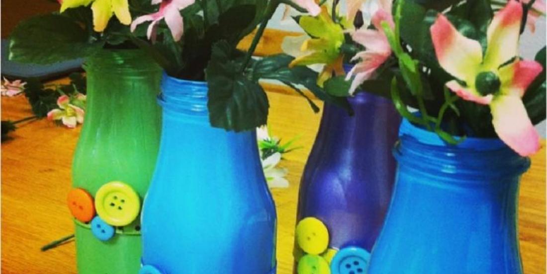 Comment bricoler un vase coloré