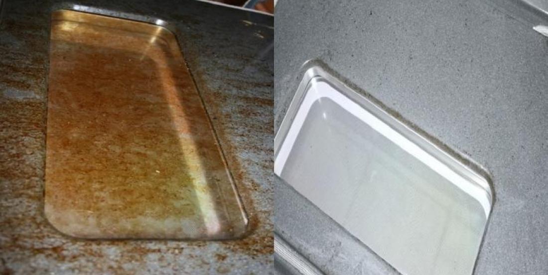 Nettoyez votre vitre de four à l'aide de seulement 2 ingrédients!!!