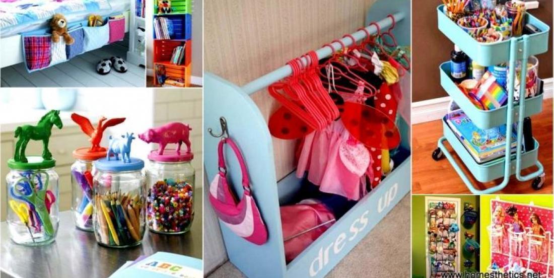 22 brillantes idées de rangement pour organiser une chambre d'enfant!