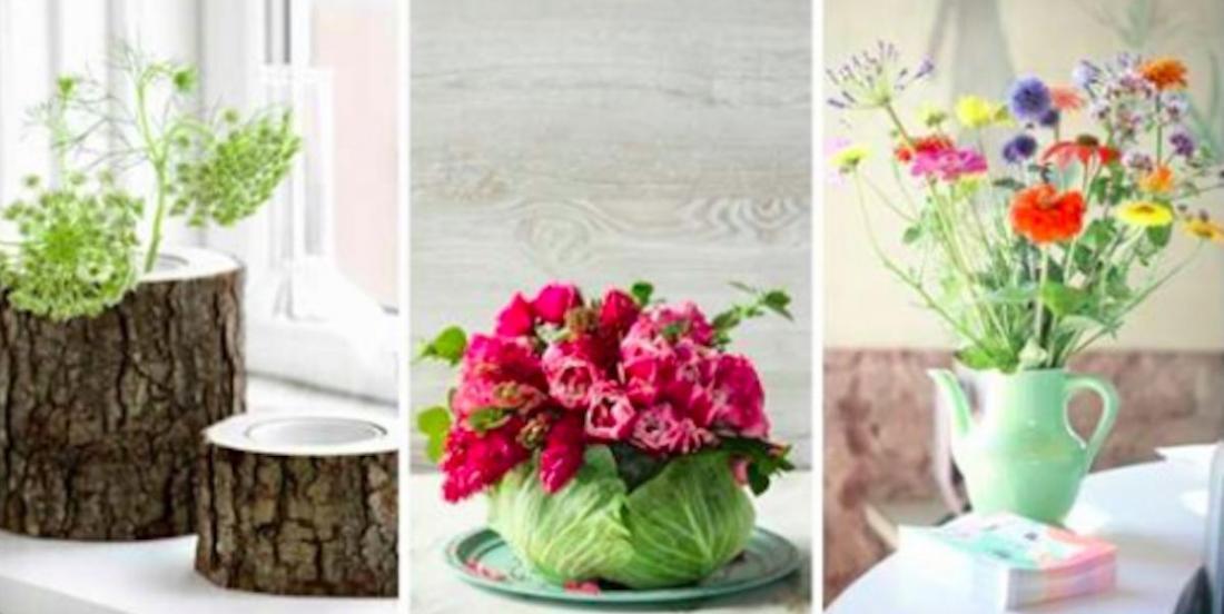 12 suggestions de vases originaux à faire soi-même