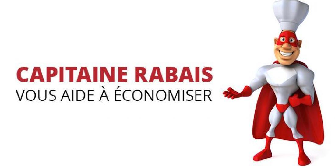 Capitaine Rabais vous aide à économiser pour la rentrée!