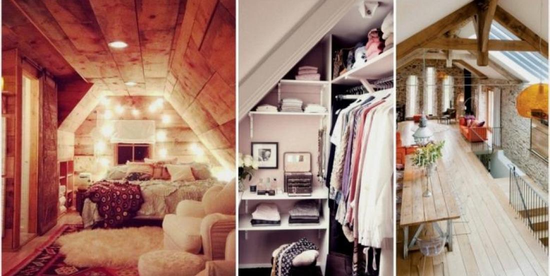 Voici 20 incroyables façons de transformer un grenier en une pièce magnifique!