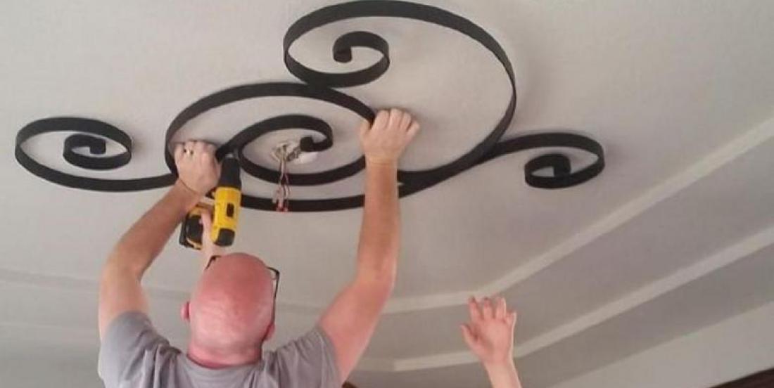 15 idées créatives pour transformer une pièce en décorant le plafond!