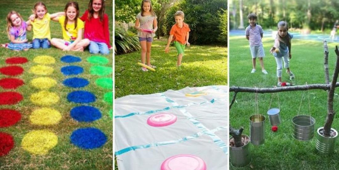 21 JEUX SUPER COOL à bricoler, pour amuser les enfants cet été!