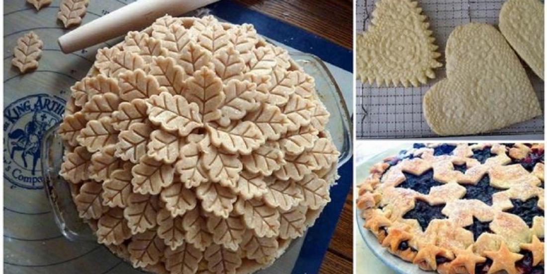 Des idées de décoration de pâte qui rendront vos tartes encore plus appétissantes!