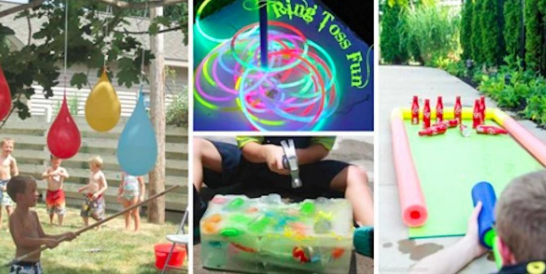 15 jeux extérieurs super géniaux à préparer pour vos enfants cet été!