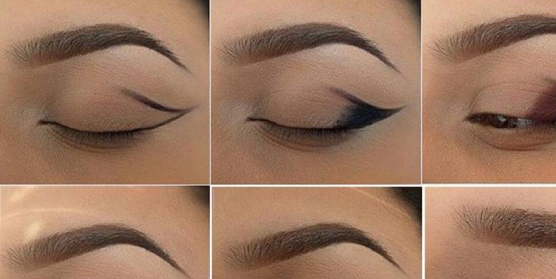 Tutoriel de yeux charbonneux ailée en couleur bronze, smokey eye