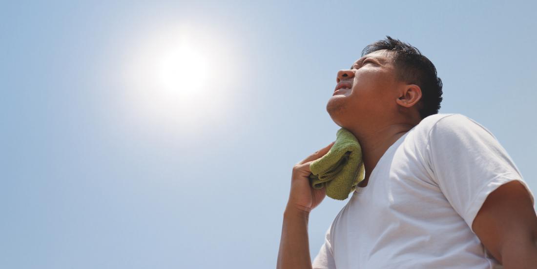 CANICULE: comment prévenir et reconnaitre un coup de chaleur