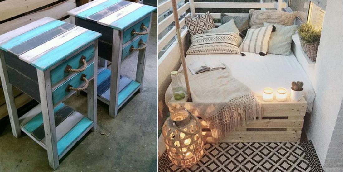 16 idées pour décorer la maison avec du bois de palette