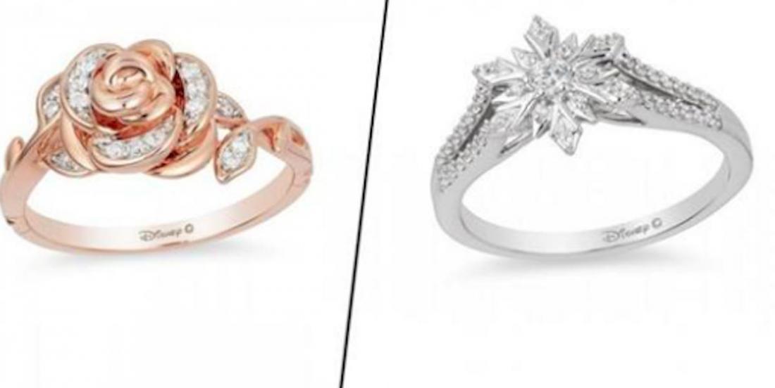 Découvrez la collection de bagues de fiançailles inspirées par les célèbres princesses de Disney!