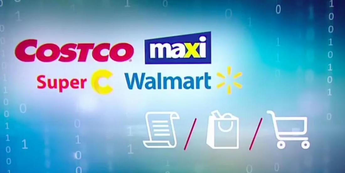 Enquête: qui de Maxi, Costco, Super C ou Walmart est la championne des bas prix?