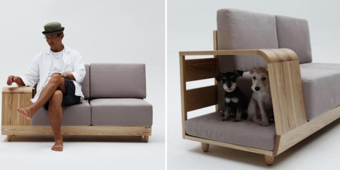 Voici le canapé rêvé pour les propriétaires de chiens