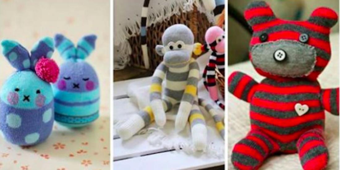 20 inspirations pour réaliser de fantastiques peluches à partir de vieux tissus